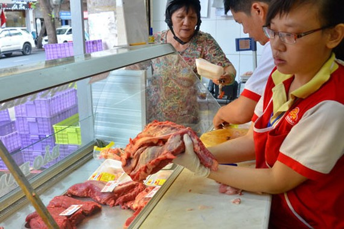 Vissan - một trong những hệ thống cung cấp thịt được người tiêu dùng đánh giá cao Ảnh: Tấn Thạnh
