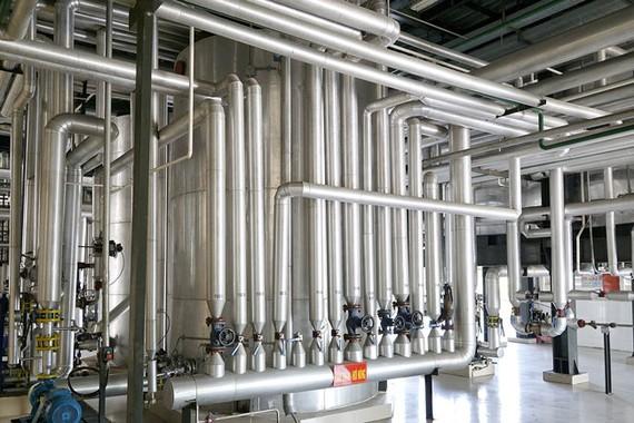 Thiết bị tinh luyện công nghệ hiện đại của Nhà máy Dầu ăn cao cấp Ranee.