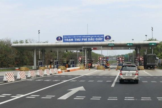 Thu phí tự động trên cao tốc TP.HCM - Long Thành - Dầu Giây