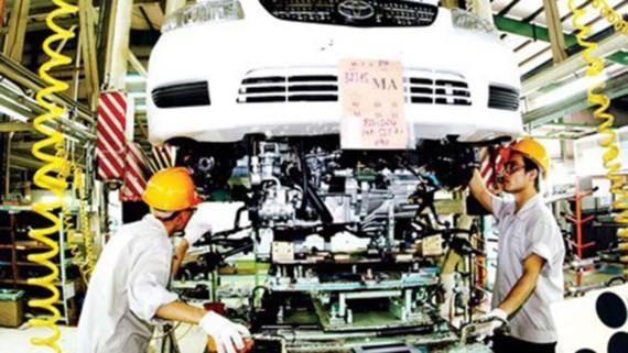 Dây chuyền sản xuất của Công ty Toyota Việt Nam