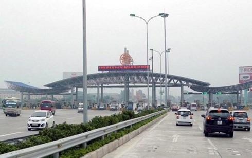 Trạm BOT Pháp Vân - Cầu Giẽ dự kiến sẽ giảm phí từ ngày 15/10 tới sau khi được Bộ GTVT phê duyệt.