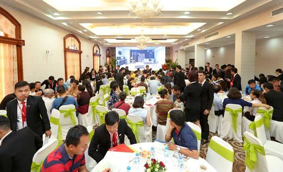 Công bố khu dân cư xanh Thăng Long Home Hưng Phú