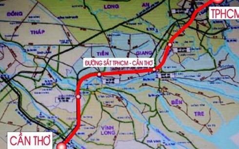 Tuyến đường sắt cao tốc TPHCM – Cần Thơ
