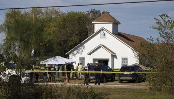 Nhà thờ nơi xảy ra vụ xả súng. Nguồn: CNN