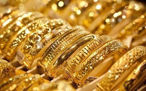 Giá vàng trong nước giảm nhẹ phiên cuối tuần