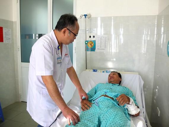 Bệnh nhân N.A.T đã hồi phục sức khỏe sau ca phẫu thuật.