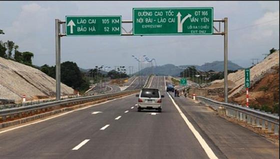 Một đoạn cao tốc Hà Nội - Lào Cai. Ảnh: VOV