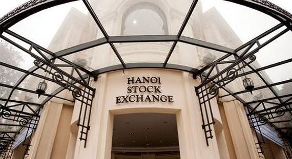 Giá trị giao dịch cổ phiếu trên HNX đạt 1.100 tỷ đồng/phiên
