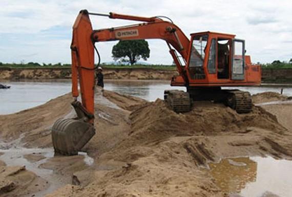 Phó Thủ tướng lệnh các địa phương chống đầu cơ tăng giá cát, sỏi