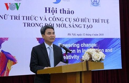 Ông Đinh Hữu Phí, Cục trưởng Cục SHTT, Bộ KH&CN.