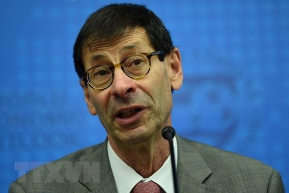 Cố vấn kinh tế kiêm Giám đốc Nghiên cứu của IMF Maurice Obstfeld. (Ảnh: AFP/TTXVN)