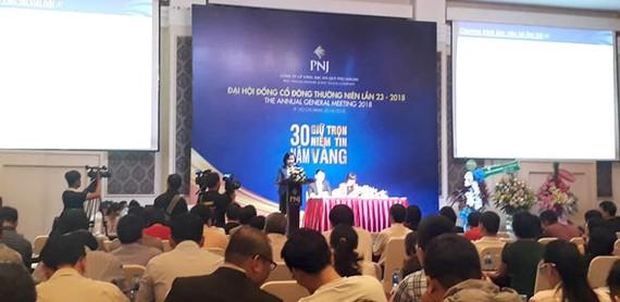 PNJ phát hành CP thưởng với tỷ lệ 2:1