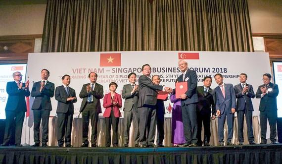 C.T Group ký nhiều thỏa thuận quan trọng tại DĐDN VN-Singapore 2018