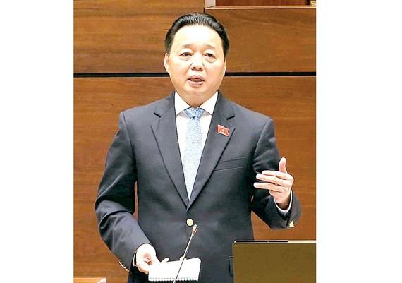 Bộ trưởng Bộ Tài nguyên - Môi trường Trần Hồng Hà