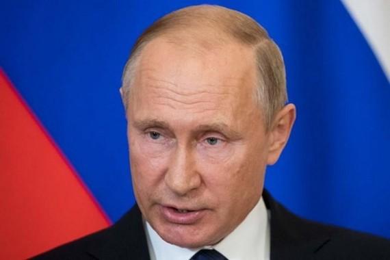 Tổng thống Nga Vladimir Putin. (Nguồn: AFP)