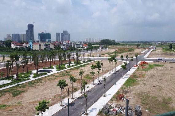 Dự án Louis City (chủ đầu tư Cty CP Thương mại Ngôi nhà mới - Cty thành viên của Tập đoàn Lã Vọng).