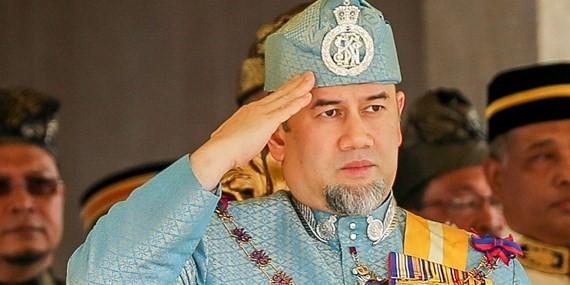 Quốc Vương Malaysia Sultan Muhammad V. Ảnh: Online Citizen