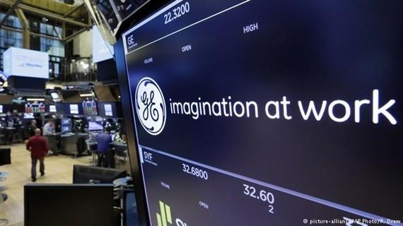 Mã General Electric bị loại khỏi chỉ số Dow Jones