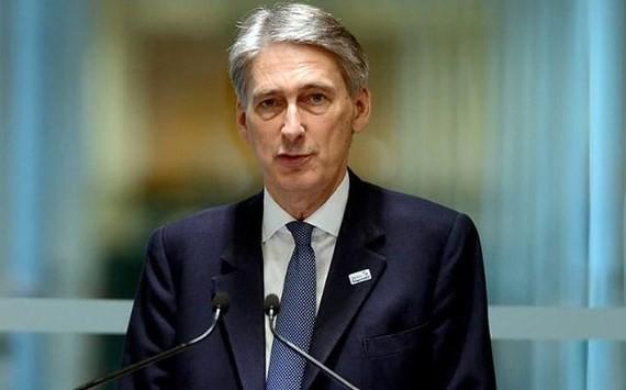 Bộ trưởng Tài chính Anh Philip Hammond. Ảnh: Telegraph