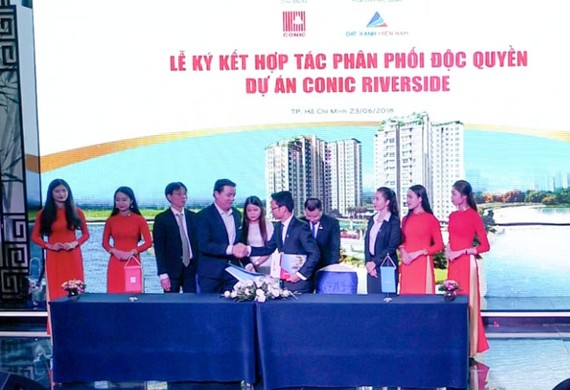 CONIC hợp tác Đất Xanh Miền Nam triển khai dự án Conic Riverside