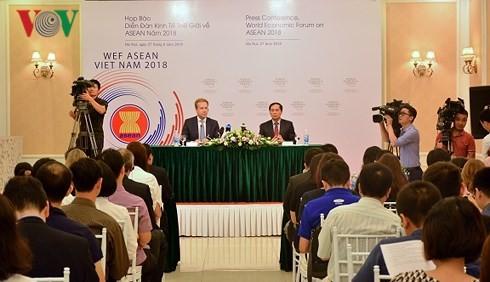 """WEF 2018 có chủ đề """"ASEAN 4.0: Tinh thần doanh nghiệp và CMCN 4.0"""""""
