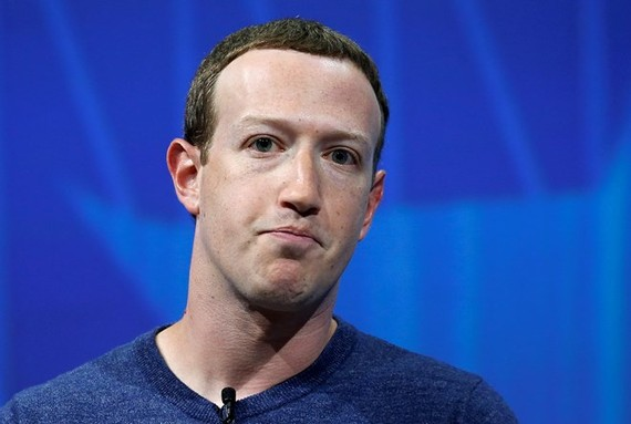 Giám đốc điều hành Facebook Mark Zuckerberg. (Nguồn: fortune.com)