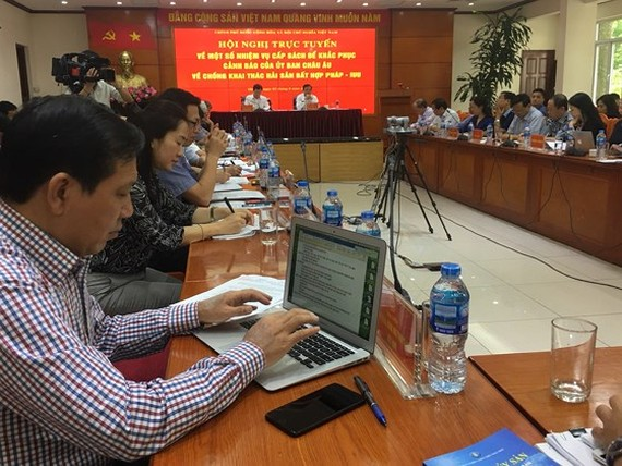 Hội nghị tìm giải pháp kiểm soát khai thác cá hợp pháp trên biển