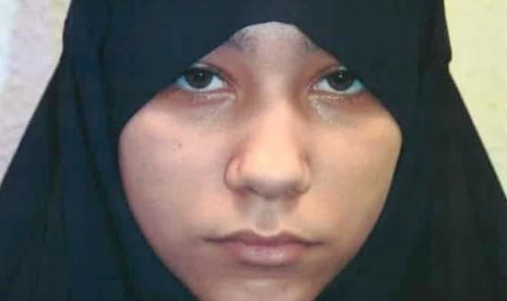 Safaa Boular đã muốn thực hiện một cuộc tấn công tự sát ở Syria. ẢNH: PA