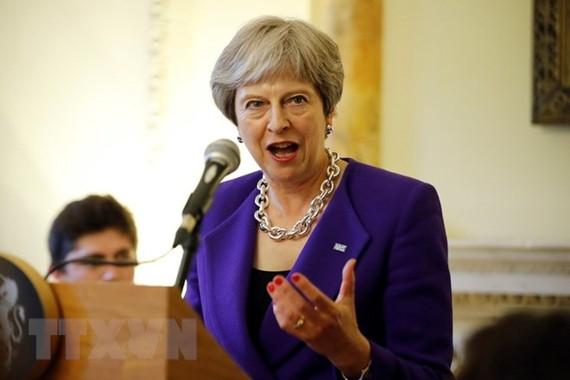Thủ tướng Anh Theresa May. (Ảnh: AFP/TTXVN)