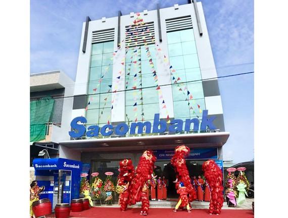 Sacombank khai trương và khánh thành trụ sở chi nhánh Tân Thạnh