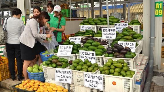 Các mặt hàng nông sản của Đồng Nai bán tại chợ đầu mối Dầu Giây còn rất ít