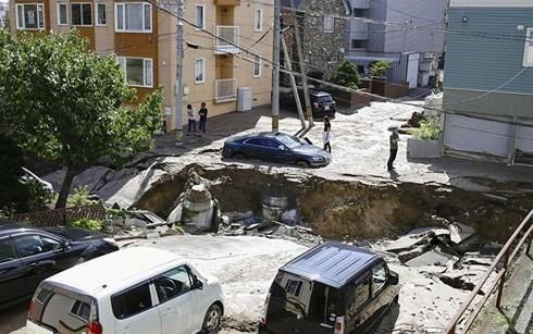 Hậu quả động đất ở Hokkado. Ảnh: DNA India.