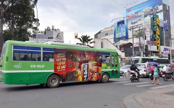 Chưa có đơn vị nào tham gia đấu thầu quảng cáo xe buýt