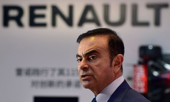 Renault vẫn giữ ông Carlos Ghosn làm Giám đốc điều hành. (Nguồn: Reuters)