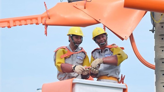 2.513 phường xã phía Nam đã được cấp điện quốc gia