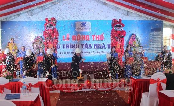 Lễ động thổ tòa nhà VNPT tại tỉnh Thừa Thiên Huế