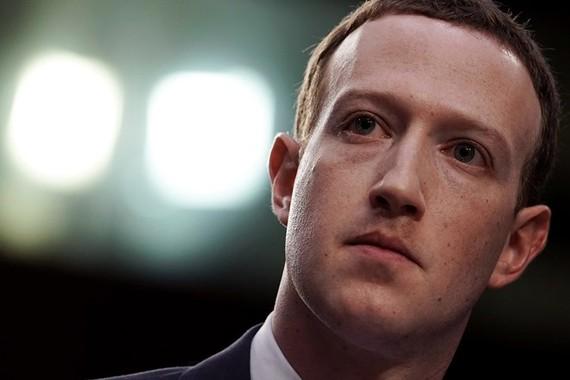 CEO Facebook Mark Zuckerberg. (Nguồn: Getty Images)