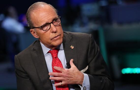 Người đứng đầu Hội đồng Kinh tế Quốc gia của Mỹ Larry Kudlow. (Nguồn: Time Magazine)