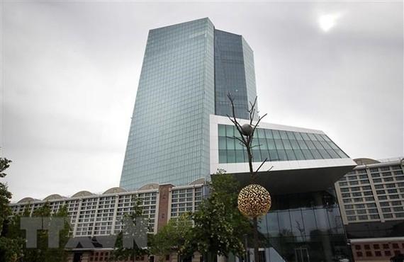 Trụ sở Ngân hàng Trung ương châu Âu (ECB) tại Frankfurt am Main (Đức) ngày 13/9/2018. (Ảnh: AFP/ TTXVN)