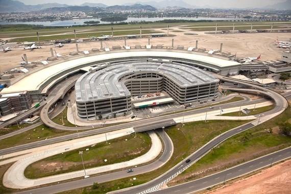 Sân bay quốc tế Galeão ở thành phố Rio de Janeiro (Brazil). (Nguồn: The Rio Times)