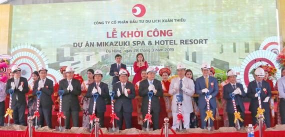 Đà Nẵng: Khởi công khách sạn 5 sao và công viên nước Xuân Thiều