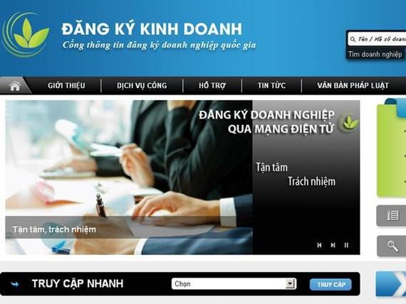 Hà Nội dẫn đầu về đăng ký doanh nghiệp qua mạng