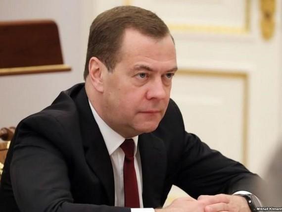 Thủ tướng Nga Dmitry Medvedev. (Nguồn: TASS)