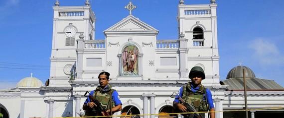 Sri Lanka: Đóng cửa ngân hàng trung ương và tất cả nhà thờ