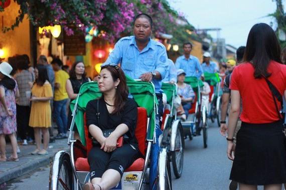 Khách du lịch Trung Quốc liên tục giảm trong nhiều tháng
