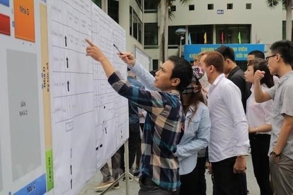 Lao động tham gia kỳ thi tiếng Hàn Quốc để sang nước này làm việc. (Ảnh minh họa: Hồng Kiều/Vietnam+)