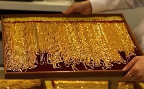 Giá vàng giao ngay tăng khoảng 0,5%. (Nguồn: ndtv.com)