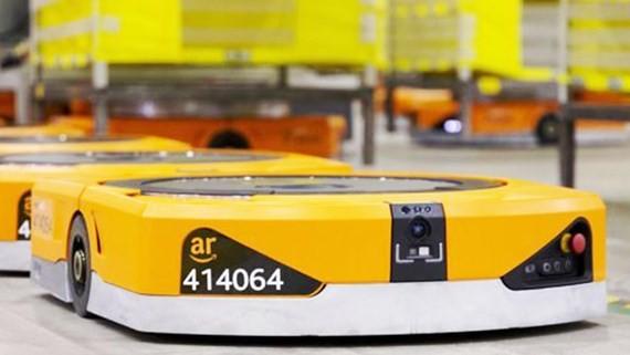 Các robot trong kho hàng của Amazon