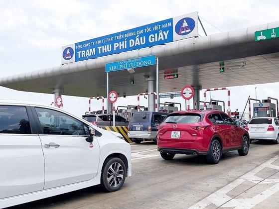Trạm thu phí Dầu Giây trên cao tốc TPHCM - Long Thành - Dầu Giây