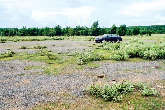 Nhiều khu đất ở Phan Thiết chỉ là bãi đất hoang tàn nhưng cũng được rao bán và đẩy giá lên cao.